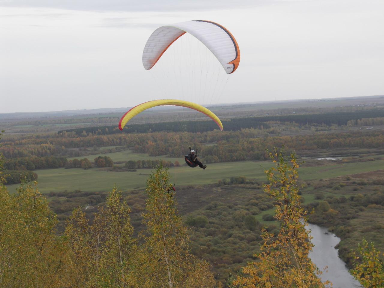 Фото полетов на параплане д чубалово нижегородская обл 5